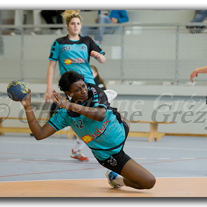 VEChandball 1/8 de finale contre Courseuilles 05.05.12